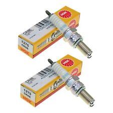 Genuine NGK CR8E 1275 Spark Plugs Pack of 2 HM-Moto CSF 200 Locusta 2012