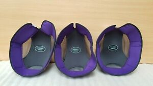 NEW JOB LOT X 3 HARRY HALL REPLACEMENT HAT LINER RIDING HAT  7 1/8 58cm pas015