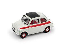 Fiat 500 1959 Tetto Apribile Sport 2a Serie Chiusa Bianco / Rosso 1:43 Model