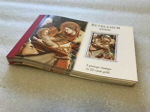 // 10X PALESTINE 1999 - MNH - BOOKLETS - CHRISTMAS - PAINTING - RELIGION