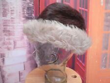 Sombrero hombre cosaco autentica piel  pelo natural gorro ushanka