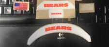 Chicago Bears MINI Speed  Football Helmet Decals Bumper Set - F/S 3M Laminate R