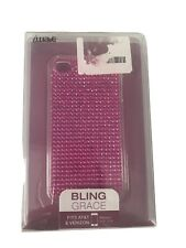 BRAND NEW 'IWAVE' IPHONE 4 PINK JEWEL CASE. FITS 16 GB AND 32 GB.