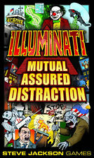 Illuminati Expansion Mutual Assured Distraction Booster Pack Steve Jackson Games