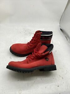 TIMBERLAND WOMEN'S PREMIUM 6 INCH NUBUCK LEATHER BOOTS A27HJ Size 7 Z5710