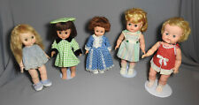VINTAGE CANADA USA PLASTIC VINYL RELIABLE, STARDOLL, DEECEE, EFFANBEE DOLLS LOT