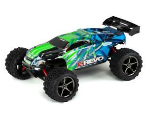 Traxxas E-Revo 1/16 4WD Brushed RTR Truck (Green) [TRA71054-1-GRN]