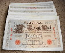 GERMANY REICHSBANKNOTE 1000 MARK 1910/sold as each