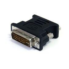 Startech.com Dvi To Vga Cable Adapter - Black - M/f - Dvi-i (dual-link) Male