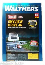 HO Scale Walthers Cornerstone 933-3478 Skyview Drive-In Theater Kit