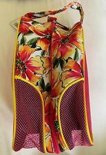 NWT Ladies Glovelt Pink Sangria Shoe Bag