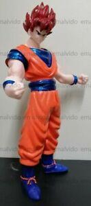 """Anime Super Saiyan SON GOKU / Kakarotto Vegeta 19"""" Huge Figure Mexican bootleg"""
