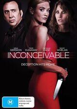Inconceivable (Brand New Region 4 DVD, 2018) Nicolas Cage & Nicky Whelan