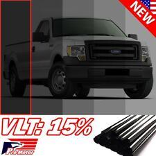 "VLT 15% 20"" 240"" 20 FT Limo Auto Home Commercial Uncut Window Roll Tint Film P1"