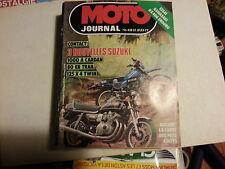moto journal n 458 1mai1980 essai kawa kx400 enduro suzuki 1000 a cardan 80ertra