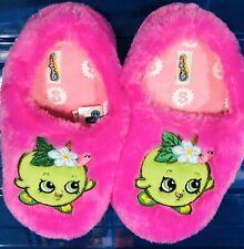 Shopkins Slippers Pink Apple Medium Size 13-1