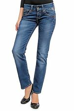 Stonewashed Replay Damen-Bootcut-Jeans niedriger Bundhöhe (en)