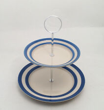 Cornish Blue 2 Tier Cake Stand Small by T.G.Green Cornishware