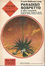 Urania  404 Frank Belknap Long 1965 Mondadori