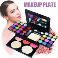 Full Facial Makeup Palette Set Eye Shadow Blusher Foundation Lip Cosmetic Kit