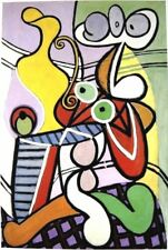 PABLO PICASSO HAND SIGNED SPECIAL COLORFUL ABSTRACT PRINT