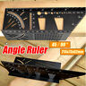 3D Aluminum Alloy Mitre Angle Ruler Measuring Gauge 45/90 Degree Woodworking