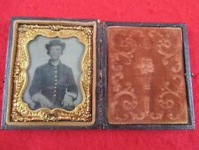 Civil War Soldier Tintype NC 8th Partison Rangers North Carolina Confederate