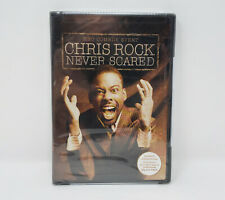 Chris Rock - Never Scared (DVD, 2004) NEW *FREE SHIPPING*