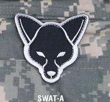 Mil-Spec Monkey Fox Head Morale Patch Swat-A Hook Back