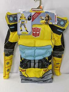 Disguise Transformers Bumblebee Boy Light-Up Costume Size Medium Jumpsuit N