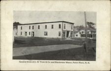 Potter Place NH General Store CH Trow & Co c1910 Postcard