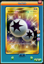 SR Double Colorless Energy SECRET RARE Pokemon TCG ONLINE ( PTCGO digital card )