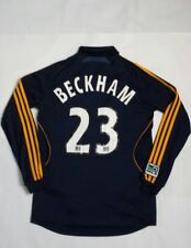 David Beckham LA Galaxy 2007 Adidas Climacool Long Sleeve Jersey Size S