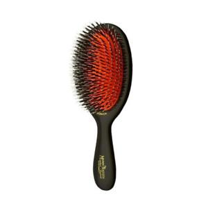 Mason Pearson 'Junior' Bristle and Nylon Hair Brush with Cleaning Brush HBBN2
