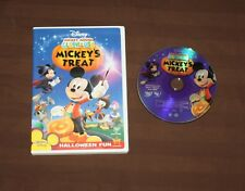 Mickey Mouse Clubhouse - Mickeys Treat (Dvd, 2007) Disney Dvd