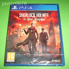 SHERLOCK HOLMES THE DEVIL'S DAUGHTER NUEVO Y PRECINTADO PAL ESPAÑA PS4