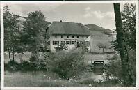 Ansichtskarte Unterprechtal Schwarzwald Gasthaus Grüner Baum  (Nr.979)