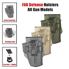 FAB Defense SCORPUS level 1 / Level 2 Ratention Holsters For All Models