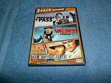 Breakheart Pass/Valdez Is Coming/The Missouri Breaks (DVD, 2014) CHARLES BRONSON