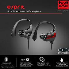 PSYC ESPRIT BLUETOOTH EAR HOOK WIRELESS SWEAT-PROOF HANDS-FREE SPORTS HEADPHONES