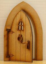 Opening Country Cottage Fairy Door - Magical Working Wooden Fairy Door Craft Kit