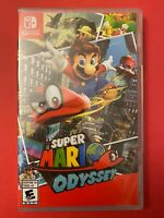 NEW & Retail Sealed: Super Mario Odyssey for Nintendo Switch (2017)