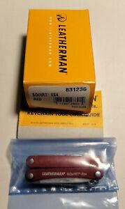 Leatherman SQUIRT ES4 red 831236 - multitool Elektrikertool