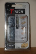 "T-Tech, Trend TT28 ¼"" Shank 9.5mm Cove Router Bit New and Sealed"