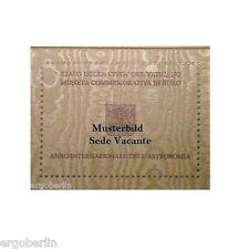 2 Euro Gedenkmünze/Sondermünze Vatikan 2013 Sede Vacante nur 85.000 Stk Auflage