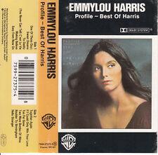 "K7 AUDIO (TAPE) EMMYLOU HARRIS ""PROFILE BEST OF HARRIS"""""