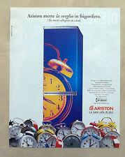 E522 - Advertising Pubblicità - 1997 - ARISTON FRIGORIFERO