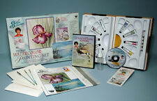 SCHEEWE WATERCOLOR. DVD PAINTING SET, BRUSHES, WC PAPER+ MORE TV  Art INSTRUCTOR