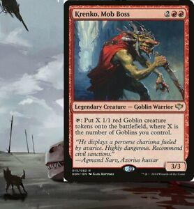 Krenko, Mob Boss - Goblin - Commander EDH Deck Pre-Built Ready-to-Play Magic MTG