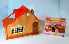 Calico Critters #CC1807 CHILDREN'S BEDROOM SET & Lakeside lodge house